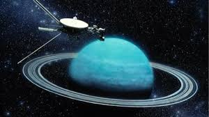Voyager 2 l'espace la sonde de la Nasa a survolé Uranus en 1986 (Science Photo Library)